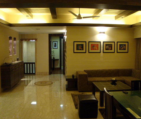 Apartment interior designer kolkata residential interior for Interior decorating job in kolkata